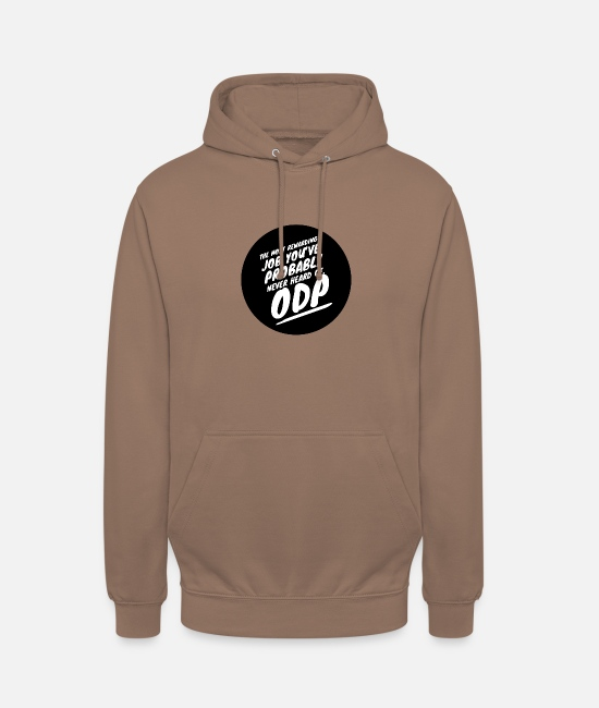Operating Department Practice Hoodies & Sweatshirts - Rewarding job 4 - Unisex Hoodie mocha