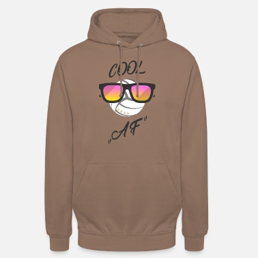 cool volleyball - funny - sunglasses - Unisex Hoodie