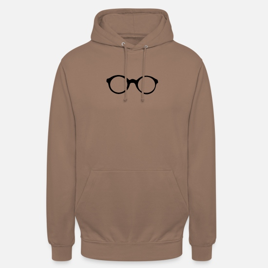 Glasses Hoodies & Sweatshirts - glasses - Unisex Hoodie mocha