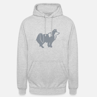 Iceland dog light grey - Unisex Hoodie