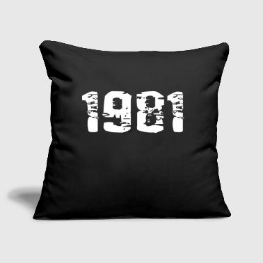 Year of birth - Sofa pillow cover 44 x 44 cm