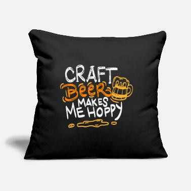 Party Craft beer makes me hoppy - Bier Geschenk - Kissenhülle
