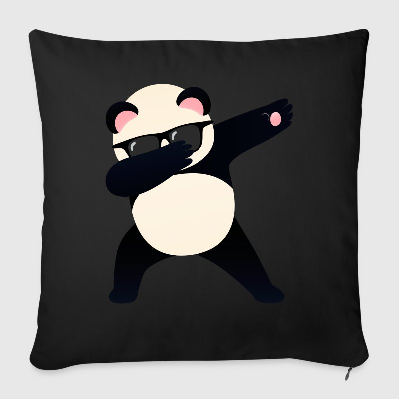 Dabbing Panda With Sunglasses - Cool Gift - Sofa pillow cover 44 x 44 cm