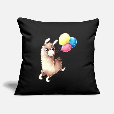 Birthday Alpaca - Sofa pillowcase 17,3'' x 17,3'' (45 x 45 cm)