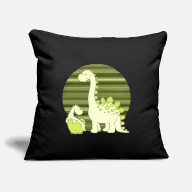 Dinosaur Mom with Hatching Egg - Sofa pillow cover 44 x 44 cm