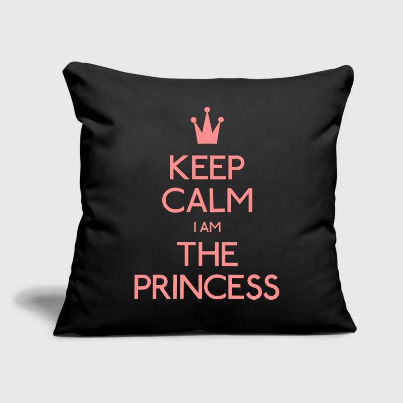keep calm i am the princess - Sofa pillow cover 44 x 44 cm