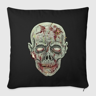 Gore Zombie Head horror T-shirt - Sofa pillow cover 44 x 44 cm