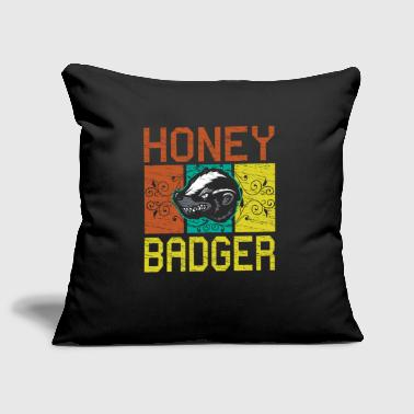 Honey badger - Sofa pillow cover 44 x 44 cm