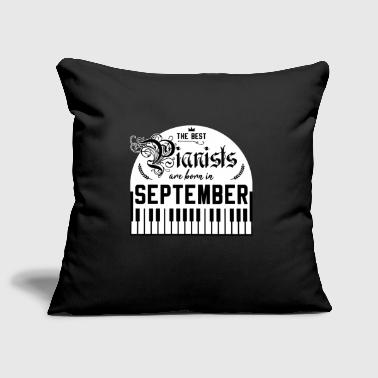 Birthday Piano Gift Idea Piano September - Sofa pillow cover 44 x 44 cm
