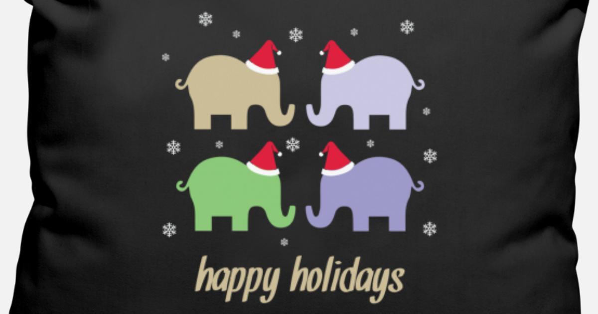 Weihnachten Geschenk Winter Schnee Elefant von Hansi Designs ...