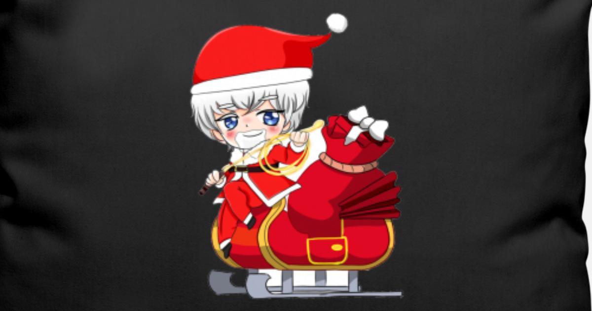 Weihnachten Anime Manga Mädchen von BrewMaster | Spreadshirt