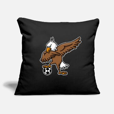 Kids &amp Dabbing dab American Eagle soccer football - Pillowcase 17,3'' x 17,3'' (45 x 45 cm)