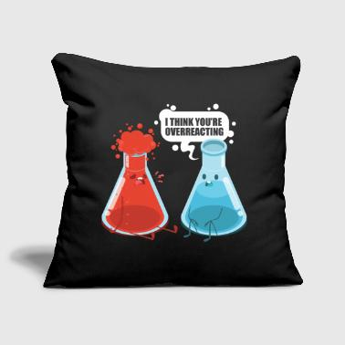 Nerd gift chemistry scientist - Sofa pillow cover 44 x 44 cm