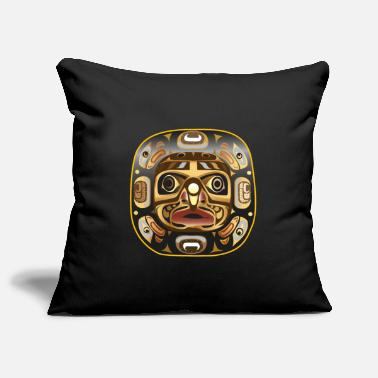 Moon mask - Sofa pillow cover 44 x 44 cm