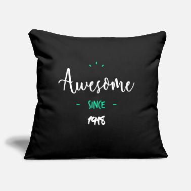 Since Awesome since 1918- - Housse de coussin décorative 44 x 44 cm