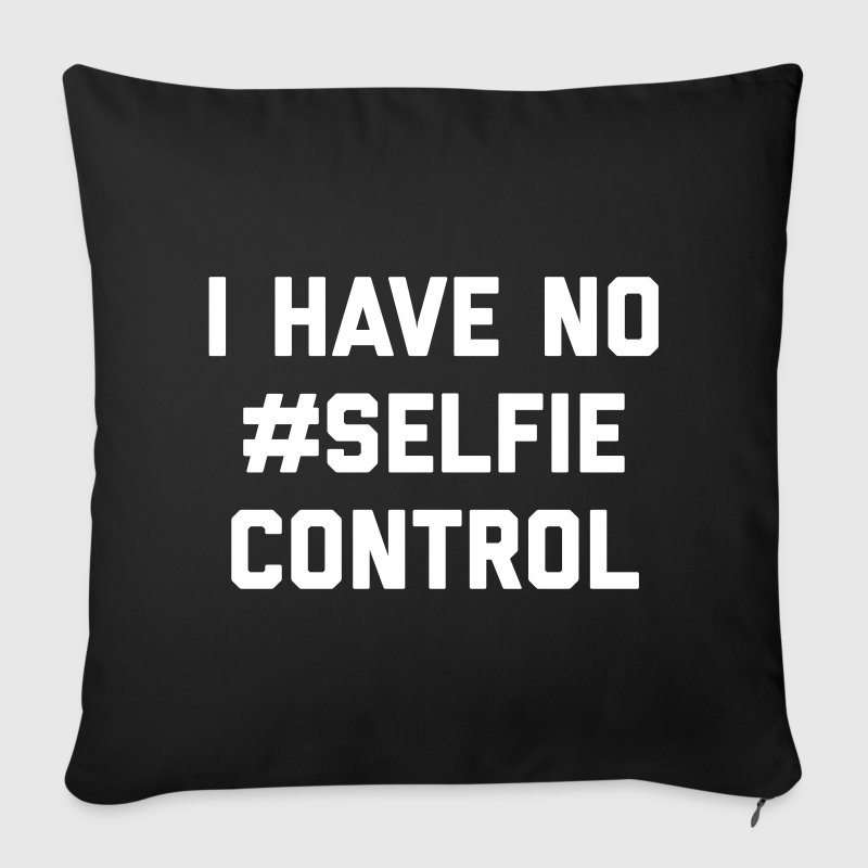 Self Control Funny Quote - Sofa pillow cover 44 x 44 cm