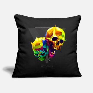 Collections skulls - Funda de cojín, 44 x 44 cm