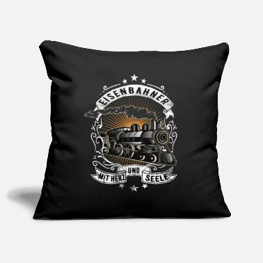 Railway Workers Railroad railway workers - Pillowcase 17,3'' x 17,3'' (45 x 45 cm)