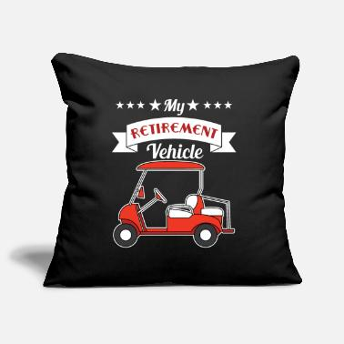 Hilarious My Pension Vehicle Funny Golf Cart rolig och - Soffkuddsöverdrag, 44 x 44 cm