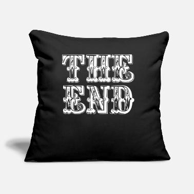 End the end | The end - Pillowcase 17,3'' x 17,3'' (45 x 45 cm)