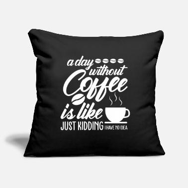 Drinking Coffee Coffee Coffee Coffee Drink - Pillowcase 17,3'' x 17,3'' (45 x 45 cm)