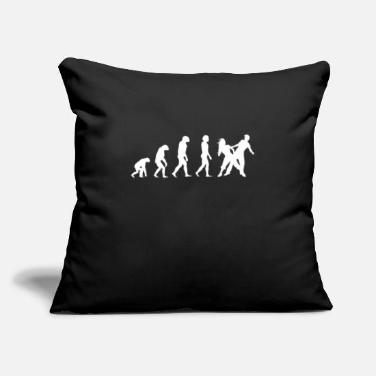 Dance Instructor Pillow Cases - Dancer dancing dancer - Pillowcase 17,3'' x 17,3'' (45 x 45 cm) black