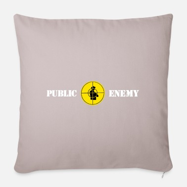 Public Public enemy - Pillowcase 17,3'' x 17,3'' (45 x 45 cm)