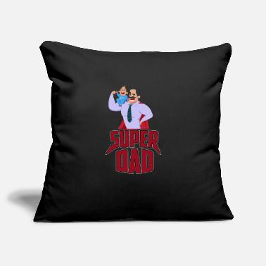 Super Dad SUPER DAD - Pillowcase 17,3'' x 17,3'' (45 x 45 cm)