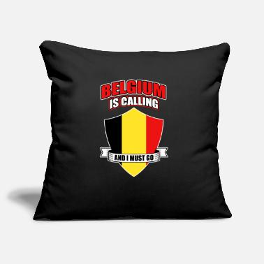 Nationality Belgium Brussels Nation Origin Nationality - Pillowcase 17,3'' x 17,3'' (45 x 45 cm)