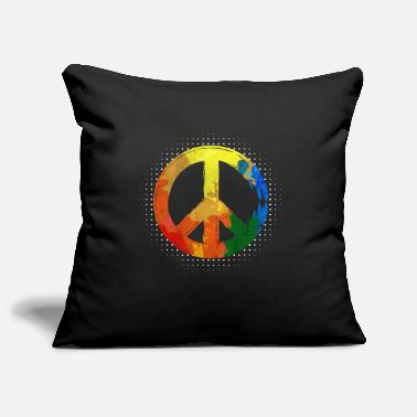 Peace Movement Hippie Hippie Movement Peace Movement Peace - Pillowcase 17,3'' x 17,3'' (45 x 45 cm)