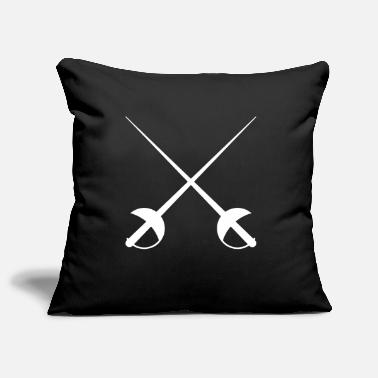 Sport Fencing swords 1 - Pillowcase 17,3'' x 17,3'' (45 x 45 cm)