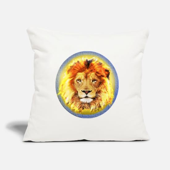 Nazi Pillow Cases - Lion Insignia - Pillowcase 17,3'' x 17,3'' (45 x 45 cm) natural white
