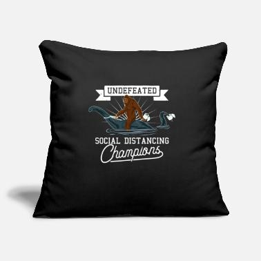 Champ Undefeated Social Isolation Champion Corona Virus - Pillowcase 17,3'' x 17,3'' (45 x 45 cm)