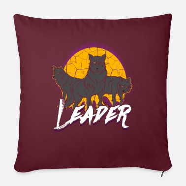 Pack Wolf Pack Pack Leader Pack Wolf Gift - Pillowcase 17,3'' x 17,3'' (45 x 45 cm)