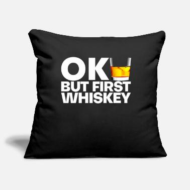 Whiskey Whiskey whiskey - Pillowcase 17,3'' x 17,3'' (45 x 45 cm)