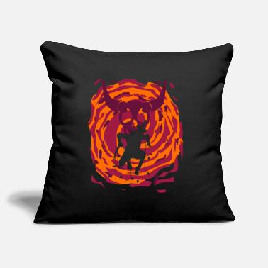 Portal Dimension Time Travel Fighter Warrior World - Pillowcase 17,3'' x 17,3'' (45 x 45 cm)