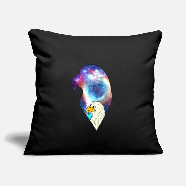 Eagle bird universe universe gift galaxy - Pillowcase 17,3'' x 17,3'' (45 x 45 cm)