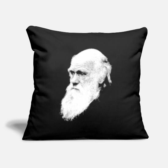 Darwin Pillow Cases - Darwin - Pillowcase 17,3'' x 17,3'' (45 x 45 cm) black