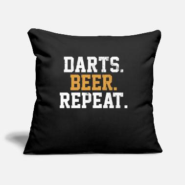 Bar-pub Dart Beer Bar Pub Vintage Arrow - Pillowcase 17,3'' x 17,3'' (45 x 45 cm)