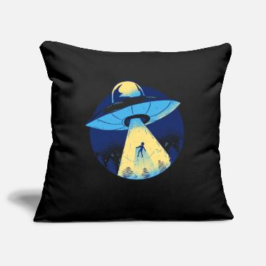 Ufo Alien UFO spaceship - Pillowcase 17,3'' x 17,3'' (45 x 45 cm)
