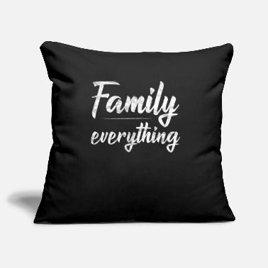 Family Values family values - Pillowcase 17,3'' x 17,3'' (45 x 45 cm)