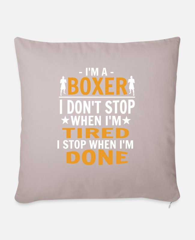 Mma Pillow Cases - boxer - Pillowcase 17,3'' x 17,3'' (45 x 45 cm) light taupe