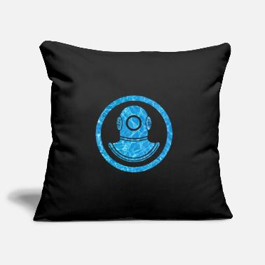 Diving Mask Diving mask icon Diving - Pillowcase 17,3'' x 17,3'' (45 x 45 cm)