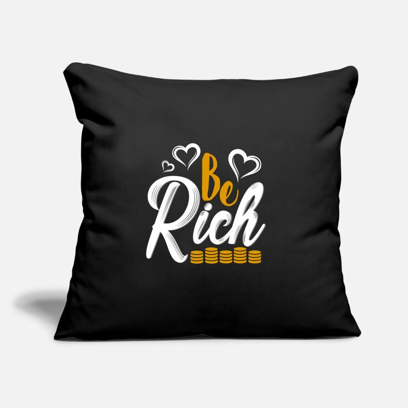 Wealth Gift Rich Money Gold Shares Pillow Case