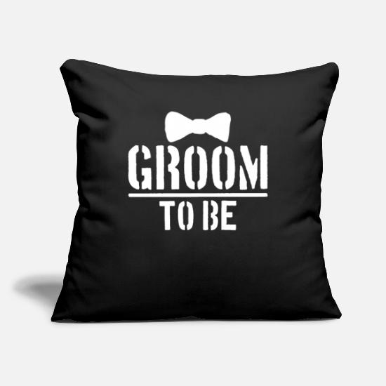 Mariage Housses de coussin - Mariage mariage anniversaire de mariage - Housse de coussin noir