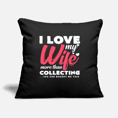 Collections Collecting - Pillowcase 17,3'' x 17,3'' (45 x 45 cm)