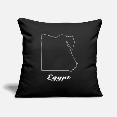 Map Egypt map map - Pillowcase 17,3'' x 17,3'' (45 x 45 cm)