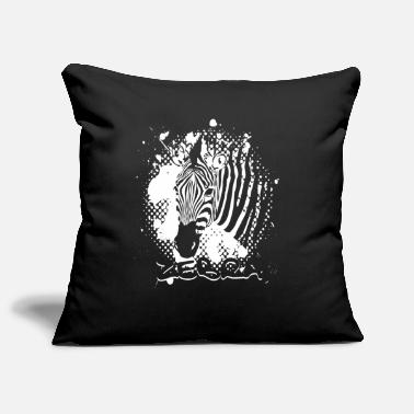 Zebra Zebra zebra head - Pillowcase 17,3'' x 17,3'' (45 x 45 cm)