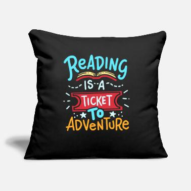 Read Read reading - Pillowcase 17,3'' x 17,3'' (45 x 45 cm)
