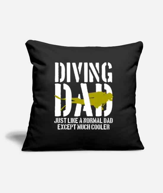 Father's Day Pillow Cases - Father's Day Father's Day - Pillowcase 17,3'' x 17,3'' (45 x 45 cm) black